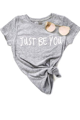 Girls Signature Just Be You Tee