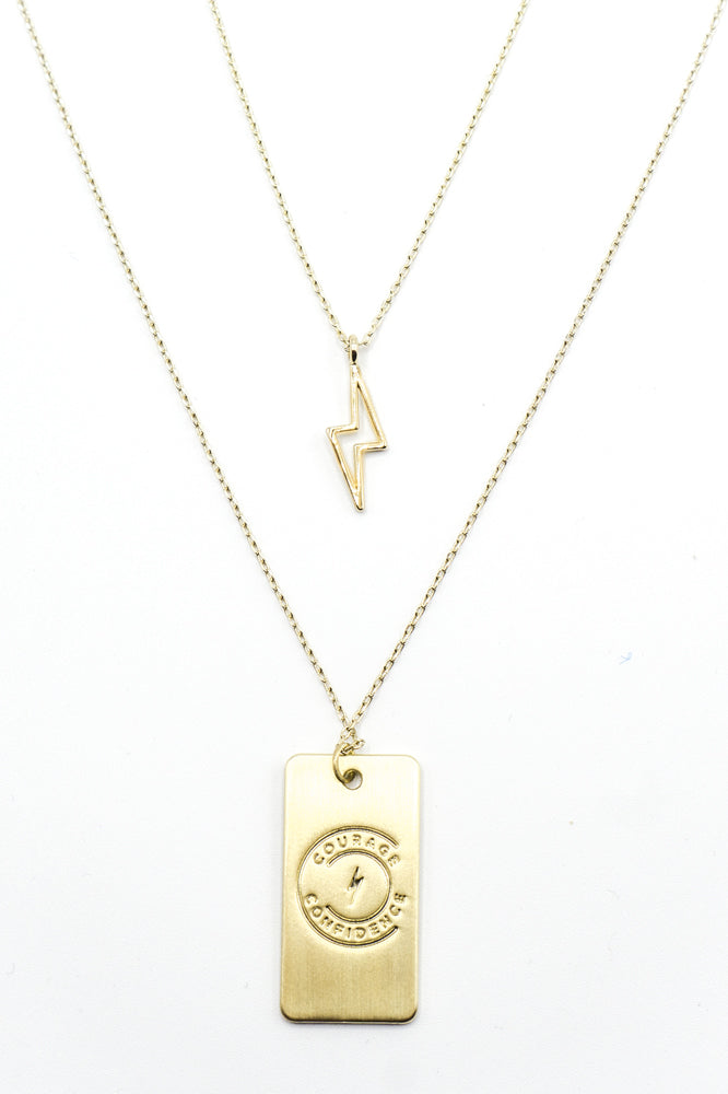 Lightning Courage Necklace Bundle
