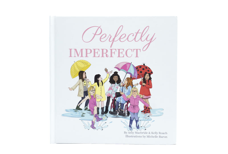 """Perfectly Imperfect"" Hard Cover Book"