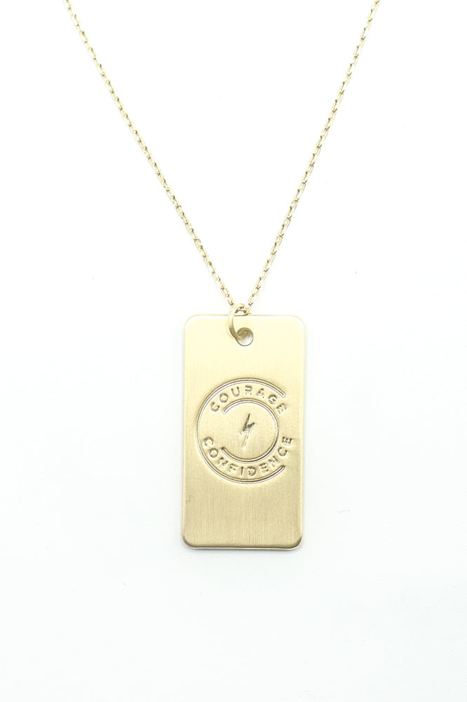 Tag of Courage Necklace