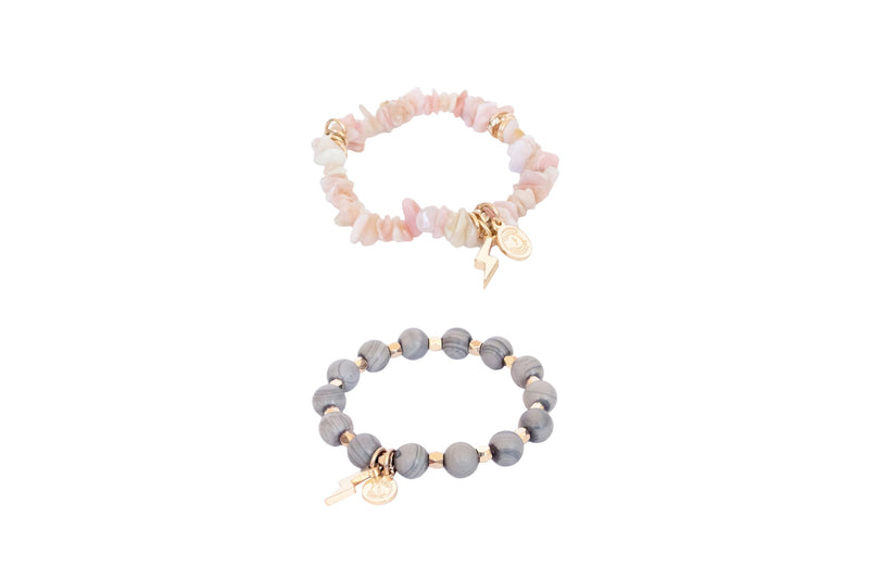 Women's Mini Stack of Courage Bracelet Set