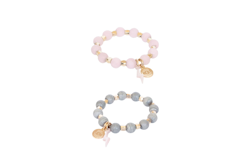 Girl's Mini Stack of Courage Bracelet Set