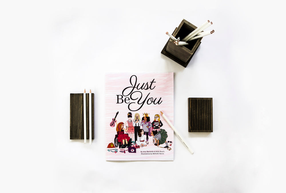 """Just Be You"" Soft Cover Book"