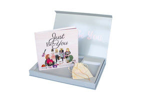 Just Be You Gift Set - with Give Her Courage Bolt Necklace
