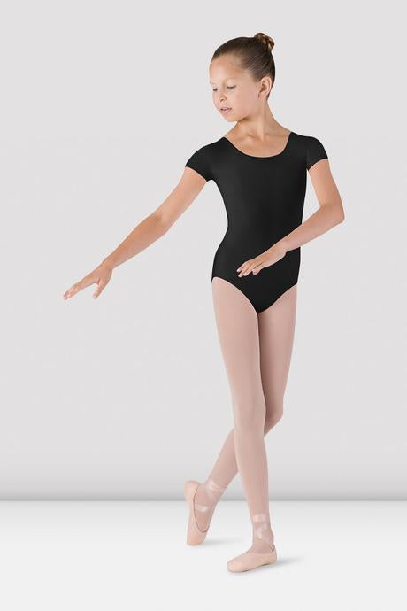 BLOCH - CL5602 Girls Cap Sleeve Leotard  Black