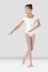 BLOCH - CL5602 Girls Cap Sleeve Leotard  White
