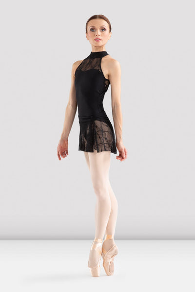 BLOCH - L6040 - EBO Halter Leotard Black