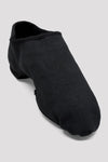 BLOCH -  SO473L -  Phantom Stretch Canvas Jazz Shoes - Black