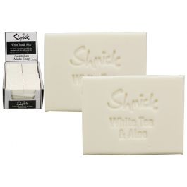 Shmick Scented Bar Soap / 100g White Tea & Aloe (In CDU)