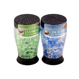 Scented Gel Bead Air Freshener / 175g (2 Assorted Scents: Jasmine & Ocean)