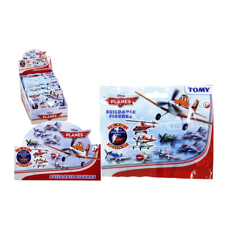 Disney Planes Buildable Figures - Part 2 / 8 to Collect (In CDU) Age 3+