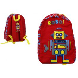 Robot Backpack / 26 x 36cm (Age 3+)