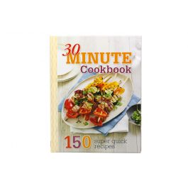 30 Minute Cookbook / 20 x 26cm (Hard Cover) 256 Pages