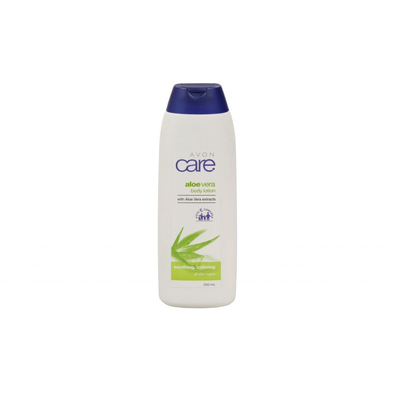 Avon Care Aloe Vera Body Lotion / 250ml For All Skin Types (With Aloe Vera Extracts)