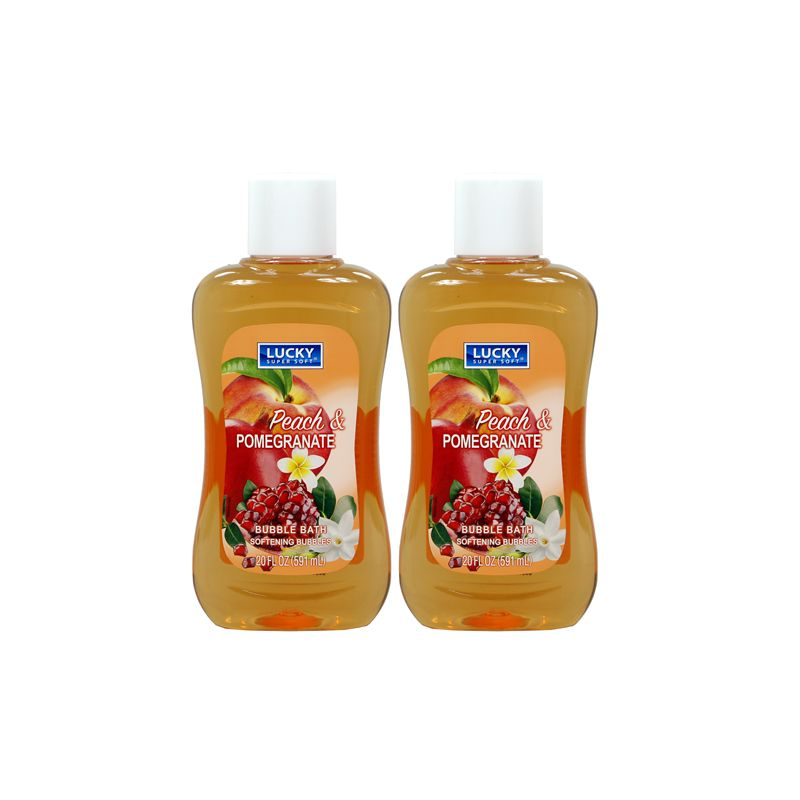 Bubble Bath / 591ml Pomegranate & Peach