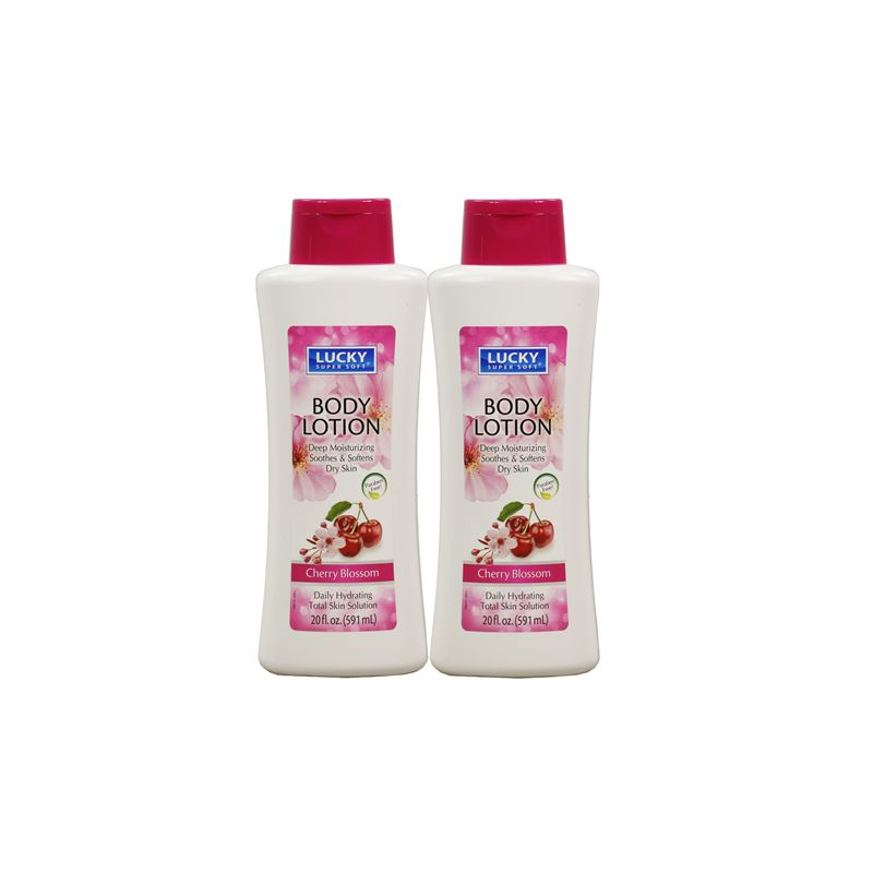 Deep Moisturizing Body Lotion / 591ml Cherry Blossom (Paraben Free) Daily Hydrating