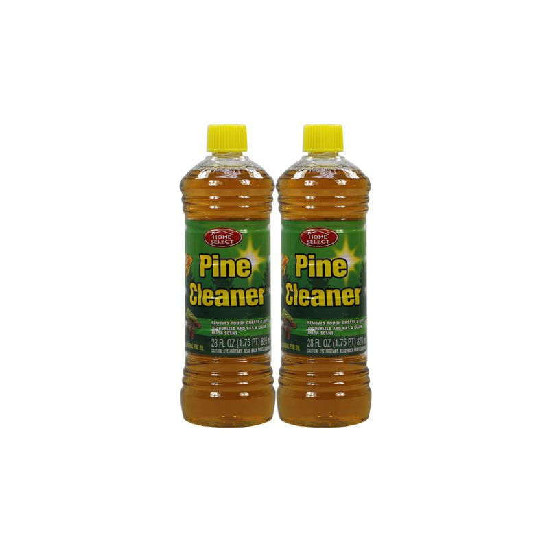 Home Select Pine Cleaner / 828ml With All Natural Pine Oil (Removes Tough Grease & Dirt Deodorizes And Has A Clean Fresh Scent)