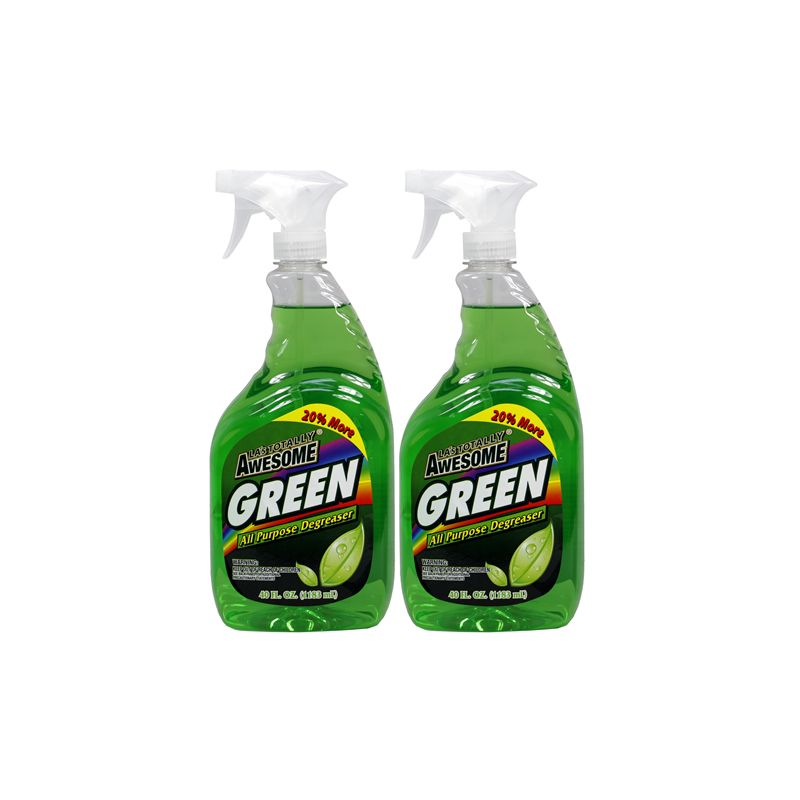 Awesome Trigger Bottle All Purpose Degreaser / 1.18Lt Green (Made in USA)