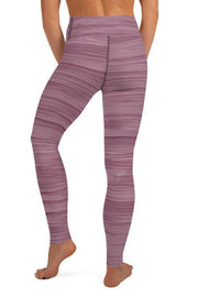 Mauvelous Oil Leggings-women's yoga leggings-Eadness Life
