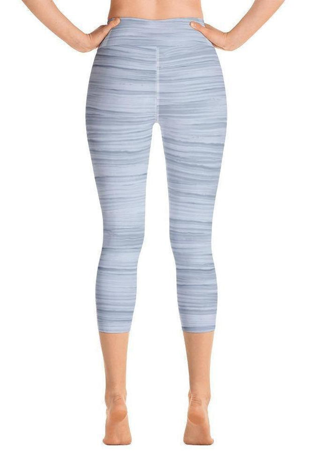 Storm Cloud Oil Capri-women's yoga capris-Eadness Life
