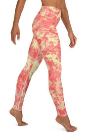 Sunny Solar Leggings-women's yoga leggings-Eadness Life