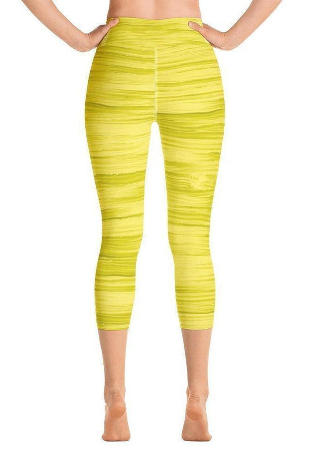 Sunshine Oil Capri-women's yoga capris-Eadness Life