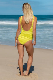 Sunshine Oil Swimsuit-women's one-piece swimsuit-Eadness Life
