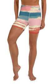 Texoma Waters Shorts-women's yoga shorts-Eadness Life