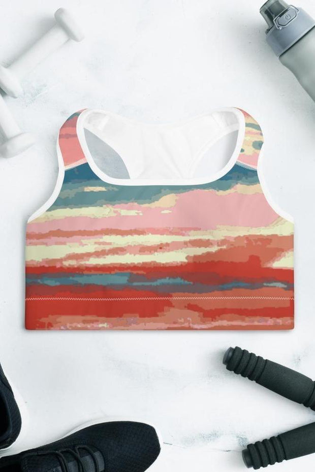 Texoma Waters Sports Bra-women's sport bra-Eadness Life