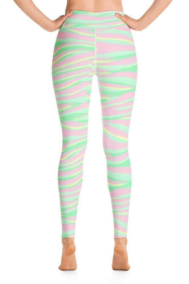 Wild in Zihua Leggings-women's yoga leggings-Eadness Life