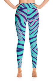 Wild Ocean Leggings-women's yoga leggings-Eadness Life