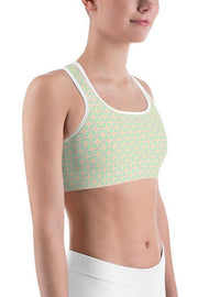 Zihua Diamonds Sports Bra-women's sport bra-Eadness Life