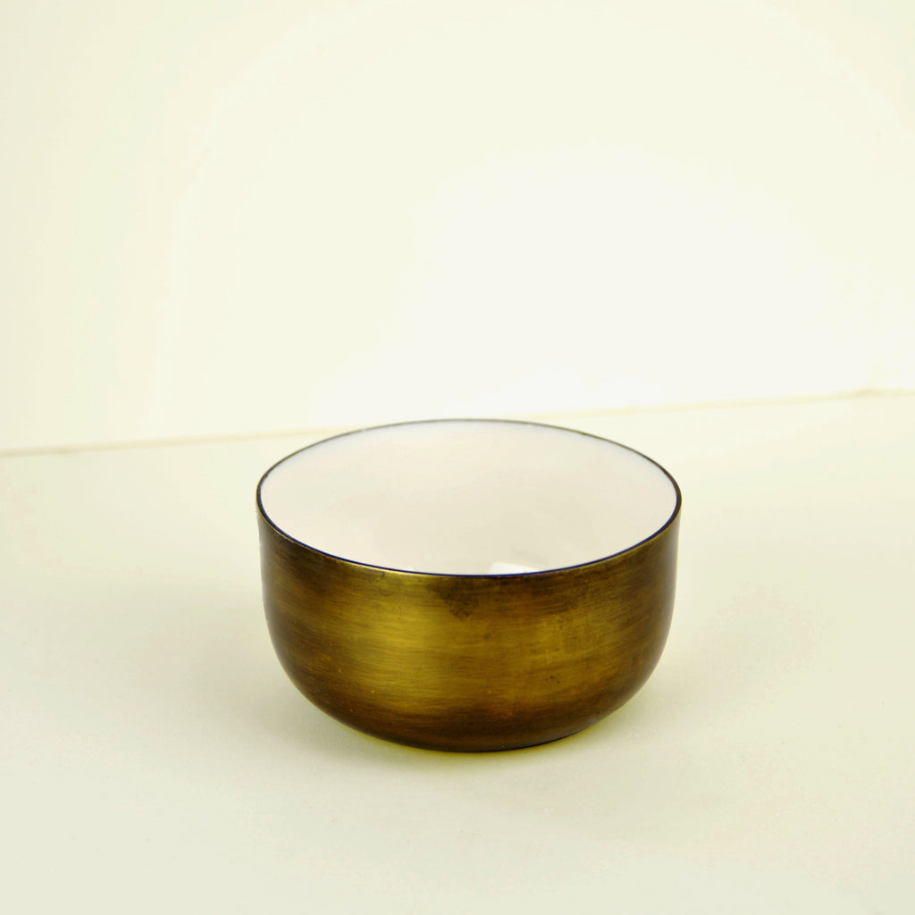 Aged Brass Nibbles Bowl