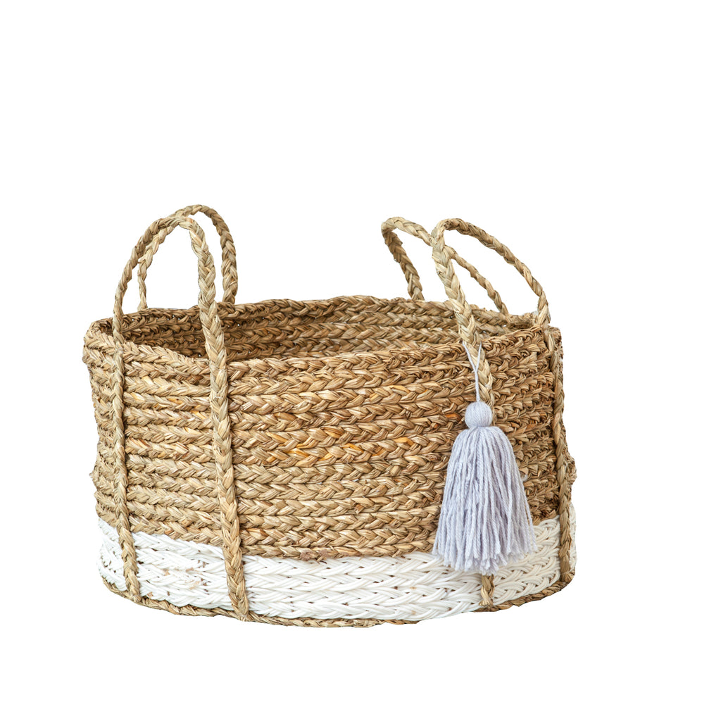Bian Tassel Basket - Short