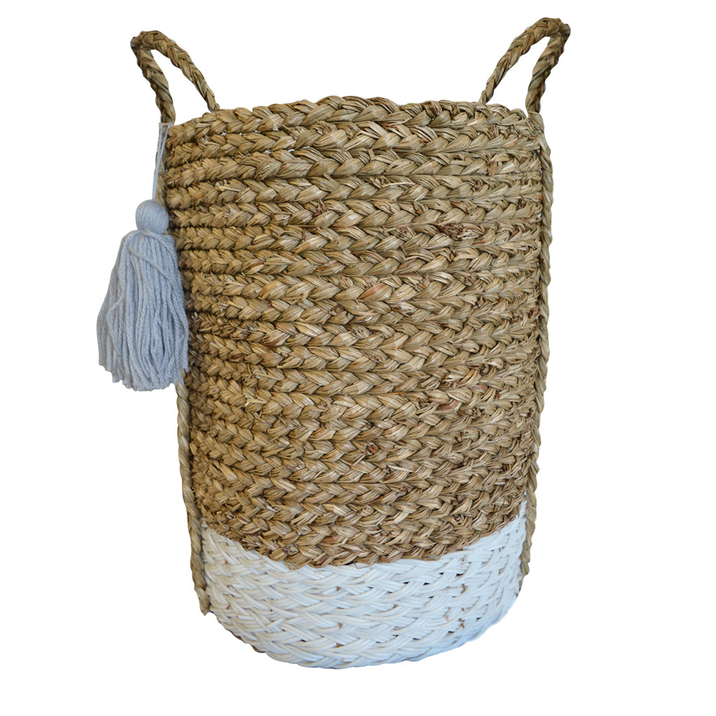 Bian Tassel Basket - Tall