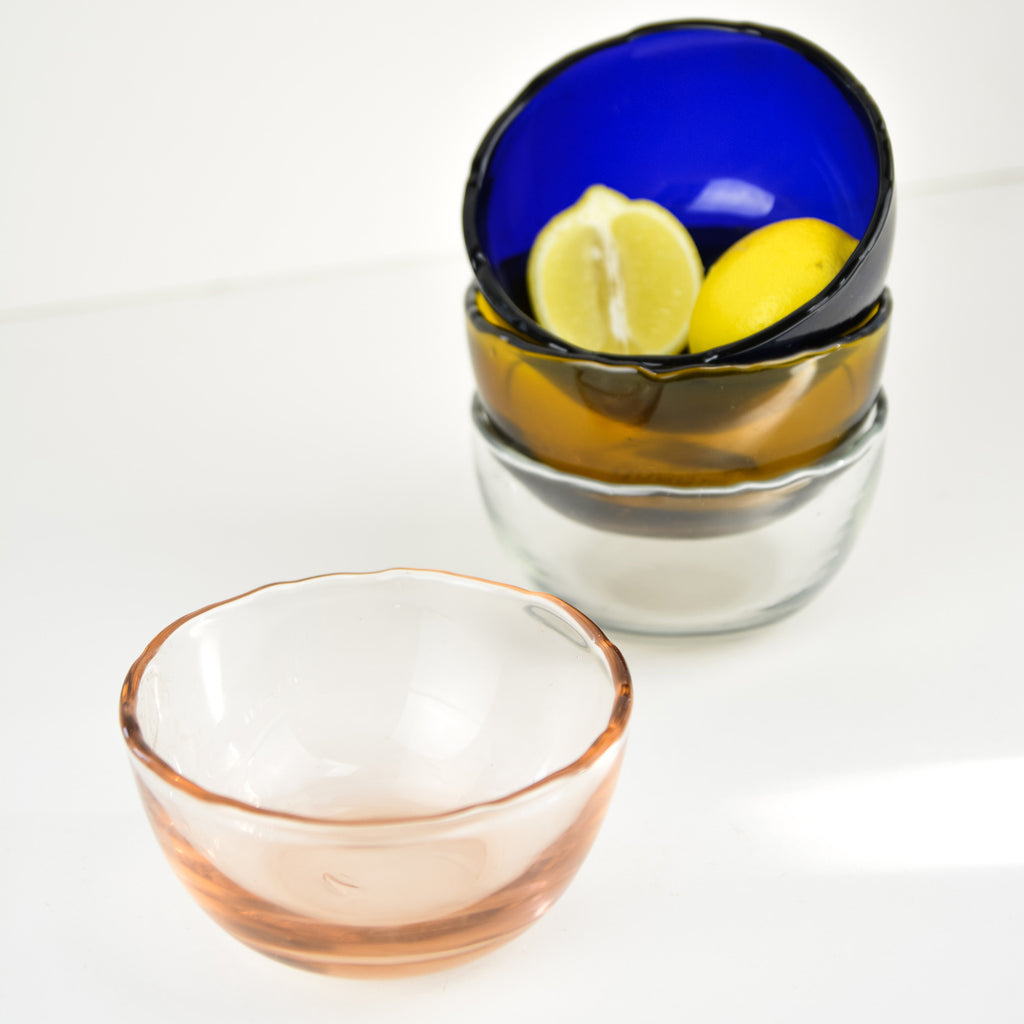 Dulari Glass Nibbles Bowl