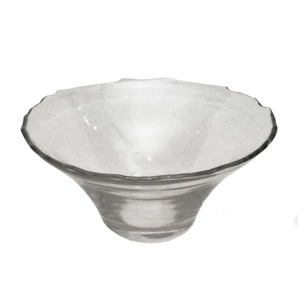 Dulari Glass Serving Bowl - Clear