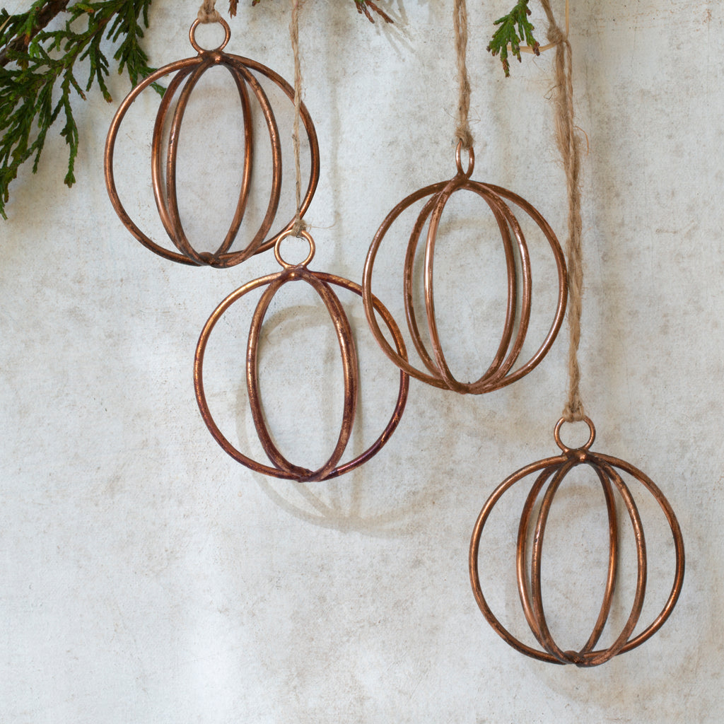 Eshe Wire Baubles (Set of 4) - Antique Copper