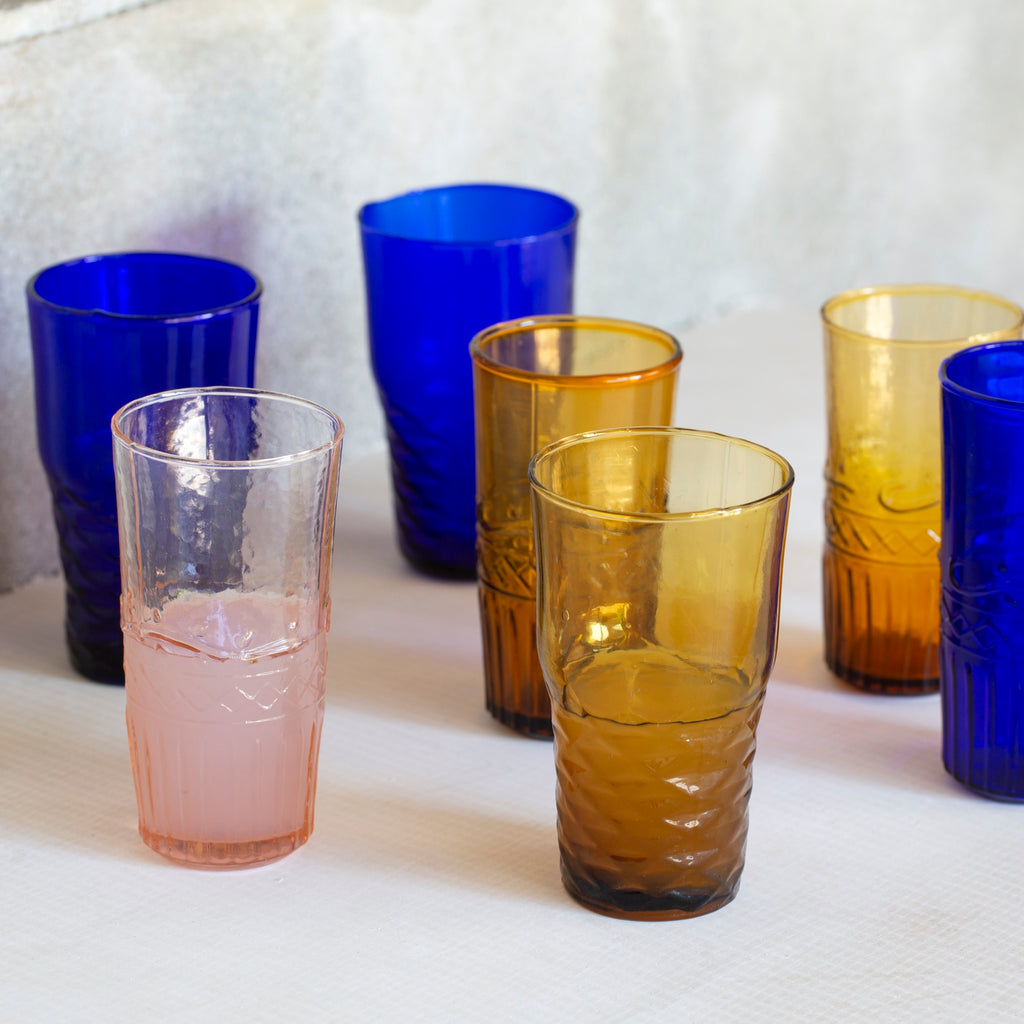 Freya Water Glasses (6 Assorted)
