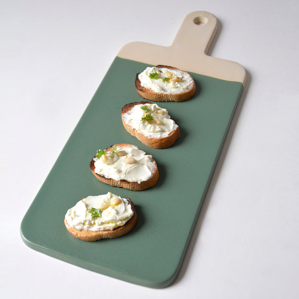 Organic Serving Board - Courgette