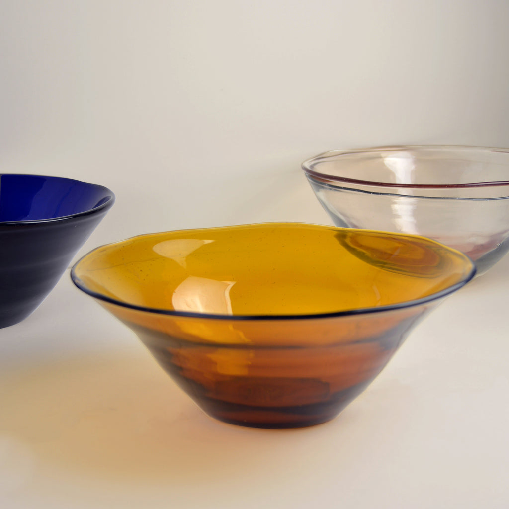 Dulari Glass Serving Bowl