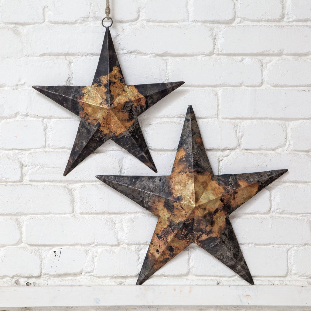 Lerato Iron Star- Flat Star (set of 2)
