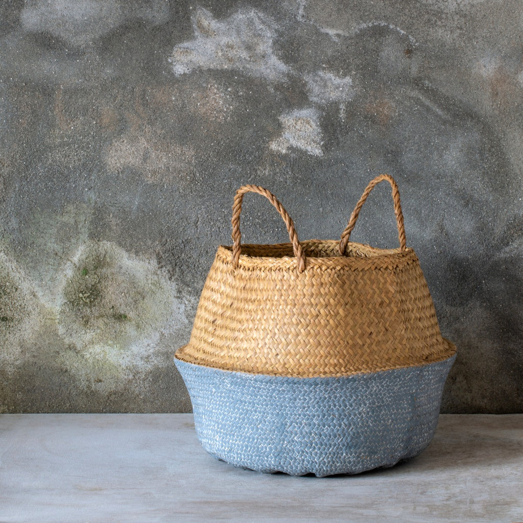 Toulouse Painted Basket