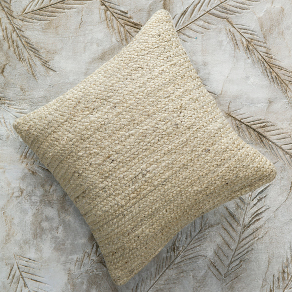 Rishu Jute Cushion - Natural