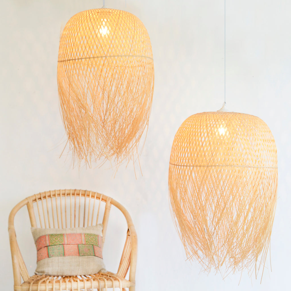 Woven Nest Lampshade (Set of 2)