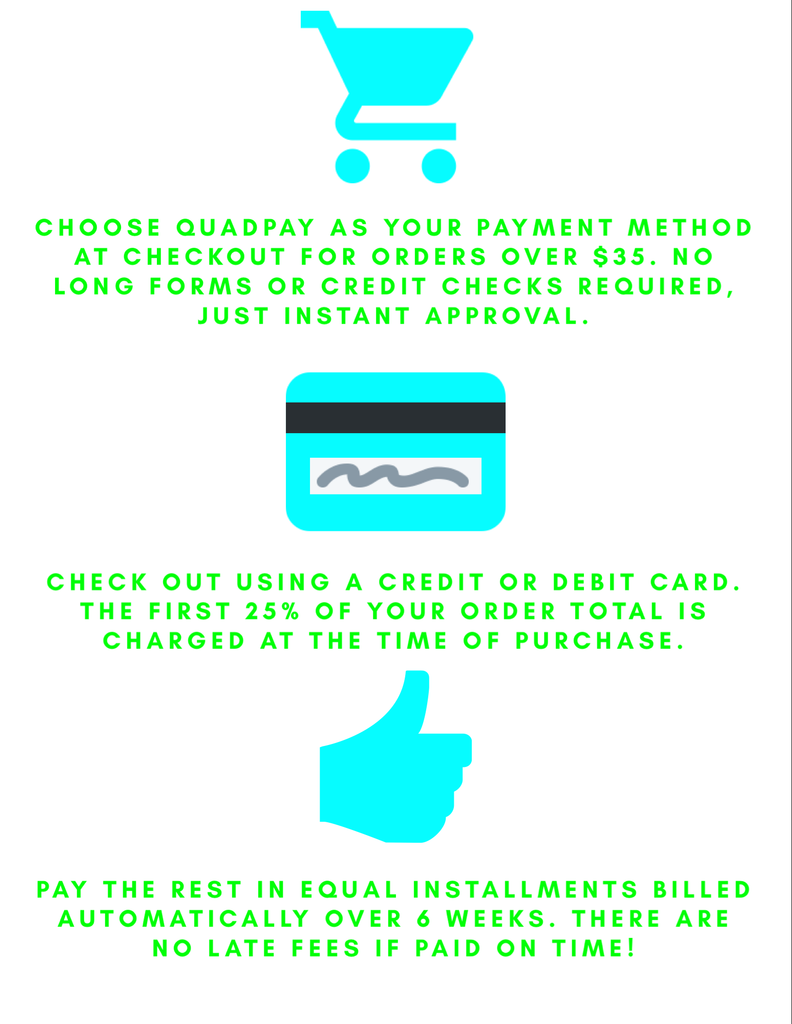 QuadPay shop now pay later