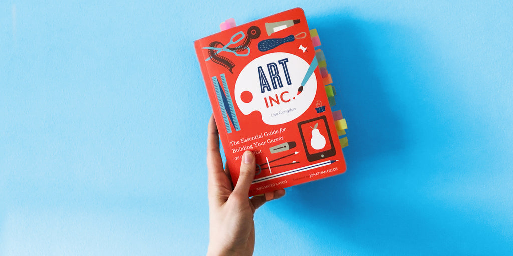 Book Chat: Art Inc. by Lisa Congdon