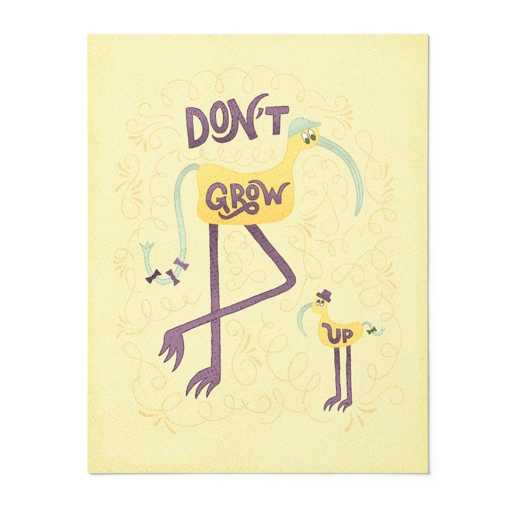 Beep & Boop | 8x10 Art Print | Poster | Don't Grow Up | Wonderful Wild Souls | Cute, Quirky, Curious Creature Illustration