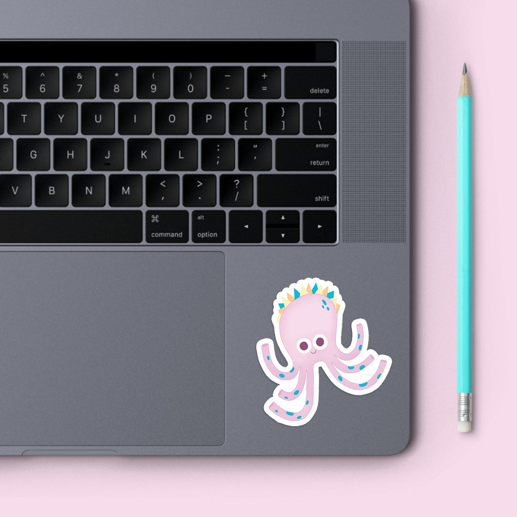 Jenny Sue | Vinyl Sticker | Fall in a Ditch | Wonderful Wild Souls | Cute, Quirky, Curious Creature Illustration