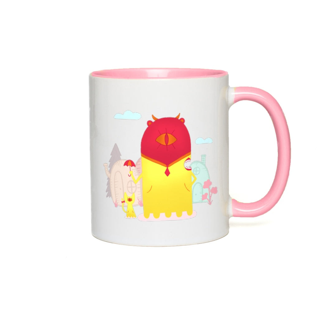 Accent Mug | Rainy Day Betty | Multiple Colors